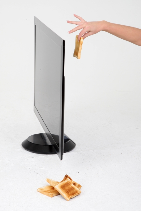 The Sony Bravia ZX1 is as thin as toast!