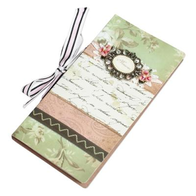 Vintage Notebook French Letter, £6.95, Dotcomgiftshop.com