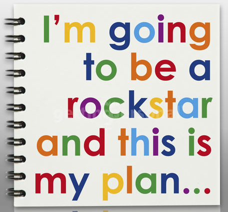 I'm going to be a rockstar, Gettingpersonal.co.uk