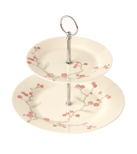 Elspeth Gibson Blossom cake stand (without cake!), £15, Tesco