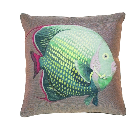 Fish cushion, £65, Wesley Barrell