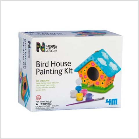 Bird House Painting Kit, £9.79, NHM