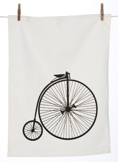 Velo tea towel, £9.50, Rose and Grey