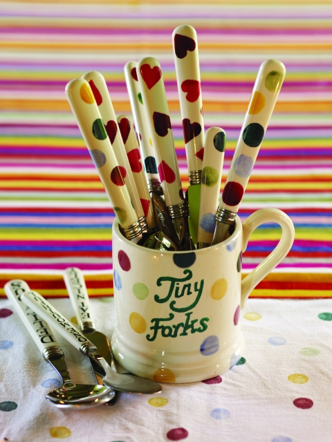 Cutlery, from £4.95 for 10 - Emma Bridgewater