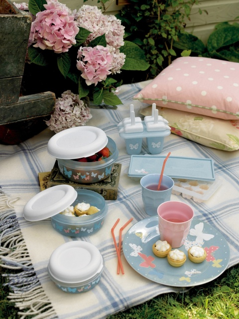 Picnicware, from £2.50 for a tumbler, Laura Ashley