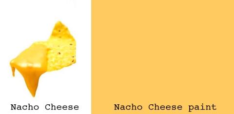 nacho cheese paint copy
