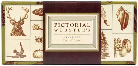 pictorial webster's stamp set