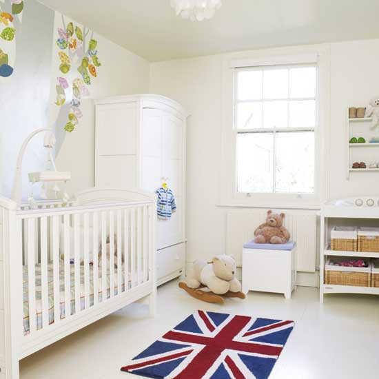 Babies free wallpapers baby room wallpaper for Simple nursery design