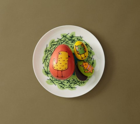 Donna Wilson Easter eggs, Rococo Chocolates, limited edition, chocolate, fair trade, ideal home, homeshoppingspy, alice humphrys