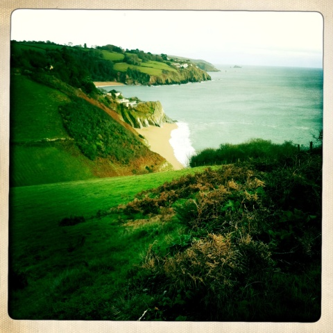 Blackpool sands, South Devon, coastal walk, coast, beach, Christmas, ideal home, homeshoppingspy, alice humphrys