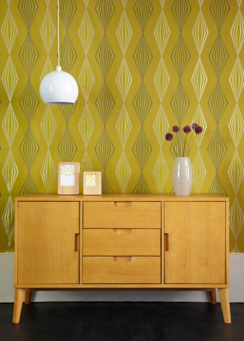 Tesco, retro, oak, sideboard, SS2012, homeware, furniture, mid-century, mid-century style, ideal home, homeshoppingspy, alice humphrys