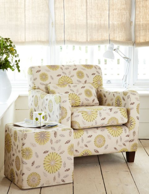 armchair, floral, tesco direct, vintage-style, country, Spring 2012 preview, ideal home, homeshoppingspy, alice humphrys