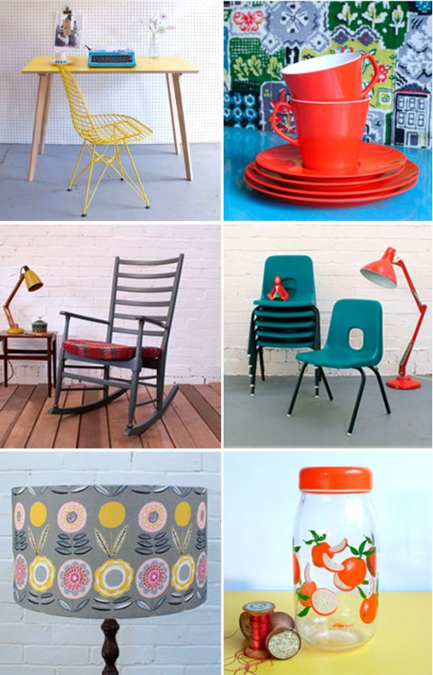 Winter's Moon, vintage, second-hand, car boot sale, online, mid-century, kitchenalia, furniture, kid's furniture