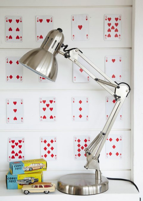 retro desk lamp, lighting, home office, tesco, Spring 2012 preview, ideal home, homeshoppingspy, alice humphrys,