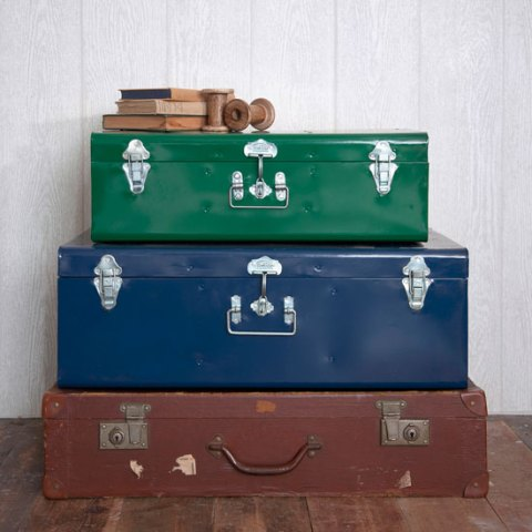 Rowan and Wren, homeware, interiors, decor, metal suitcase, Spring collection, online, ideal home, homeshoppingspy, alice humphrys