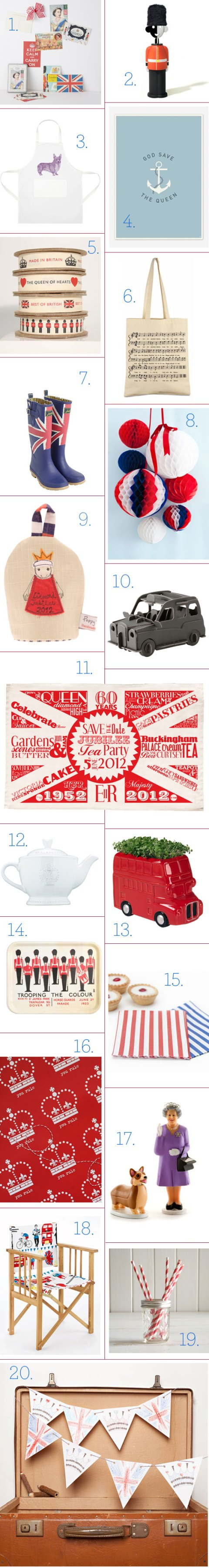 Jubilee, Queen's Diamond Jubilee, homeware, patriotic, street party, bunting, The Queen, homeshoppingspy, alice humphrys, B&Q, Sainsburys, Pedlars